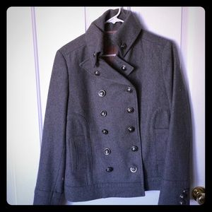 Cute Grey Military style jacket